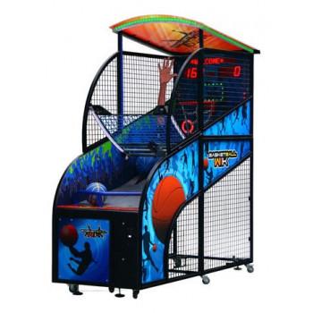 Интерактивный автомат баскетбол «Basketball» 270/250 x 246 x 100 см, (купюроприемник)