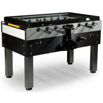 Настольный футбол (кикер) «Pro Sport» (144x76x90см, черный, жетоноприемник)