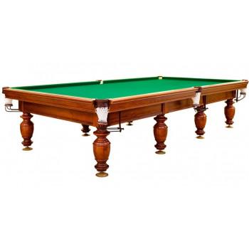 Бильярдный стол для русского бильярда Корнет  (9 футов, сосна, борт ольха, ЛДСП 22-25)